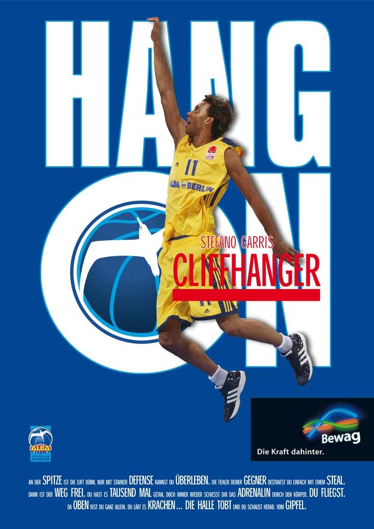 Cliffhanger - Nino Garris (Basketball ALBA BERLIN)