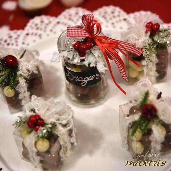 #confetti #maxtris #cadeaux #natale #christmas #bomboniera #praline #nocciola #chocolate #cioccolato #cioccolatini #chocolates