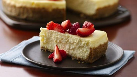 Think i wanna try it!M Greek Yogurt-Cheesecake Recipe by HAAS10