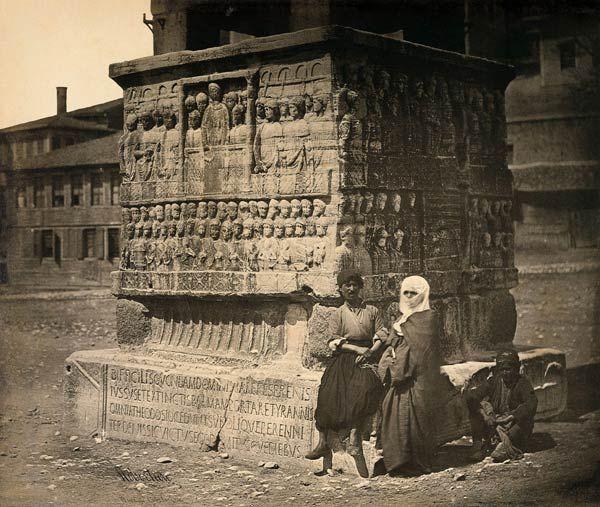 Sultanahmet Meydanı, 1850'ler.