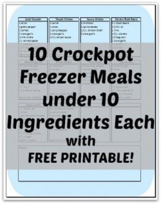 Crockpot cooking is becoming all the rave with busy schedules and the desire to eat better.  But where to begin?  Check out these ten super easy crockpot meals that will save you time and money!