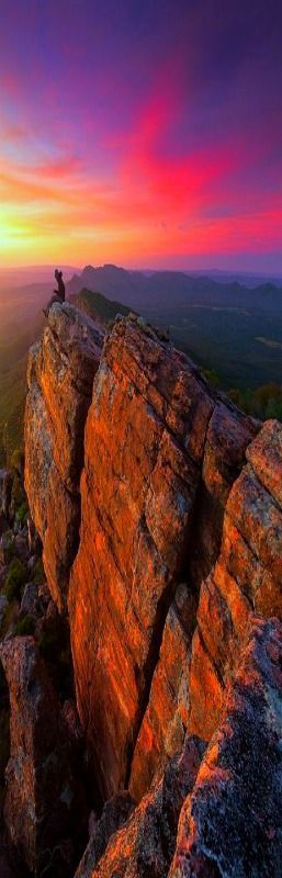 """Bloody Mary"", St. Mary's Peak, Flinders Ranges, South Australia by Dylan Gehlken"