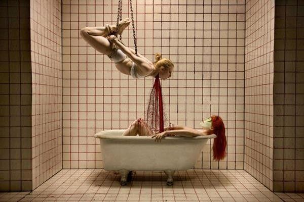 Killer promo from new Goretorium attraction Facebook: Horror Photography, Creepy, Blood Bath, Inspiration, Nightmare, Joshua Hoffine, Dark Art, Dark Side