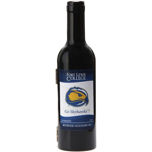 Fort Lewis College Skyhawks Wine Bottle Set - $24.99