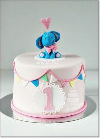 Mycakes: Nias 1-års tårta
