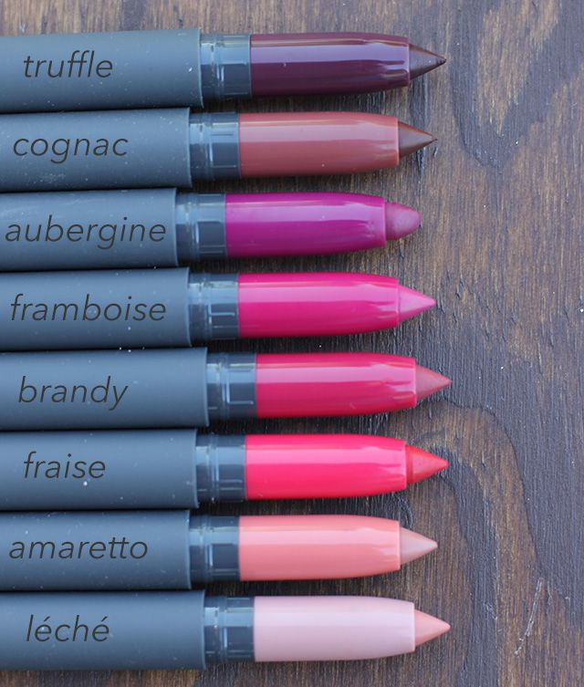 My absolute favorite lip product of all time by Bite Beauty! The Matte Créme lip pencils.