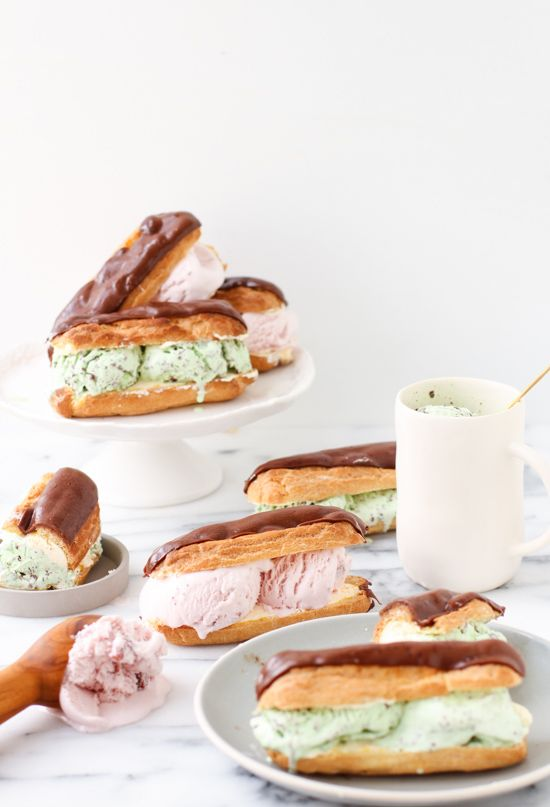 recipe: calories in a chocolate eclair with cream [39]