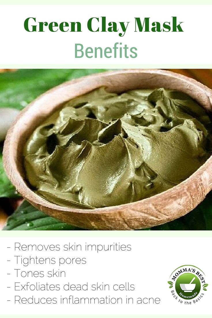 This clay mask can also be used as a full-body treatment to soften dry, rough skin. Just five simple, organic ingredients: french green clay, grapeseed oil, and vitamin e