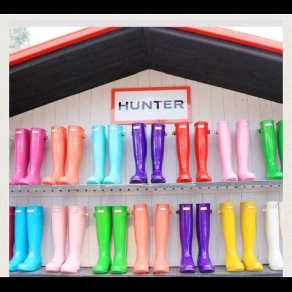 Looking children hunter boots size 11 and 1 Any color Hunter Boots Shoes