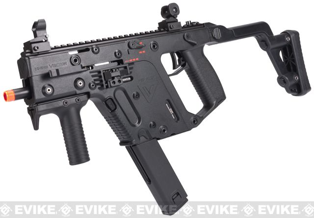 KRISS Vector Full Size Airsoft GBB SMG by KWA - Black, Airsoft Guns, Gas Airsoft Pistols, KWA - Evike.com Airsoft Superstore