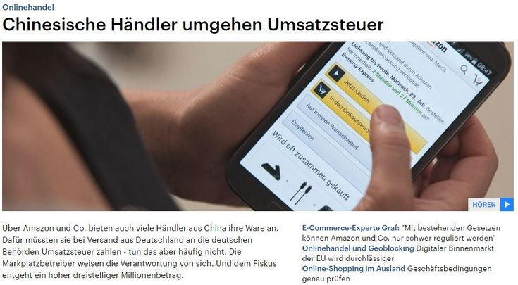 Deutschlandfunk: Chinesische Händler umgehen Umsatzsteuer https://www.wortfilter.de/wp/deutschlandfunk-chinesische-haendler-umgehen-umsatzsteuer?utm_content=buffer13db5&utm_medium=social&utm_source=pinterest.com&utm_campaign=buffer