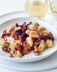 Gnocchi with Wild Mushrooms | Cooking! | Pinterest