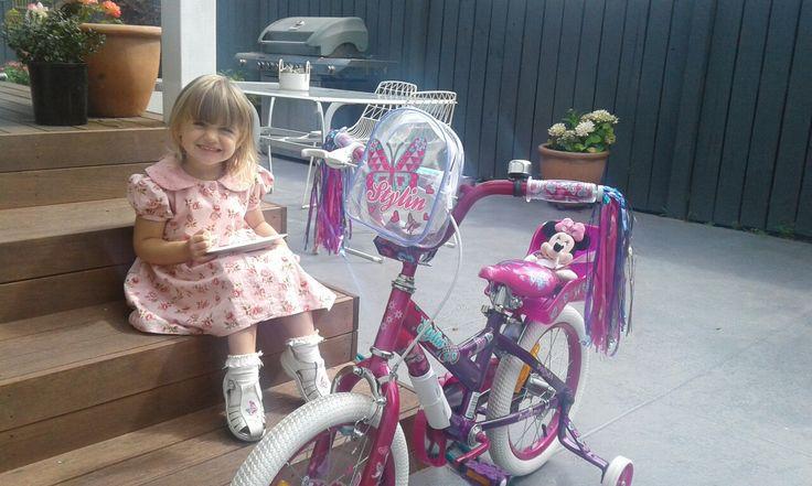 Maceys new bike
