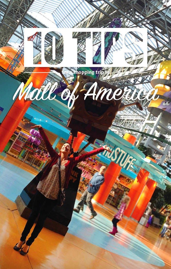 Top 10 tips for shopping at the Mall of America from sunnylit style