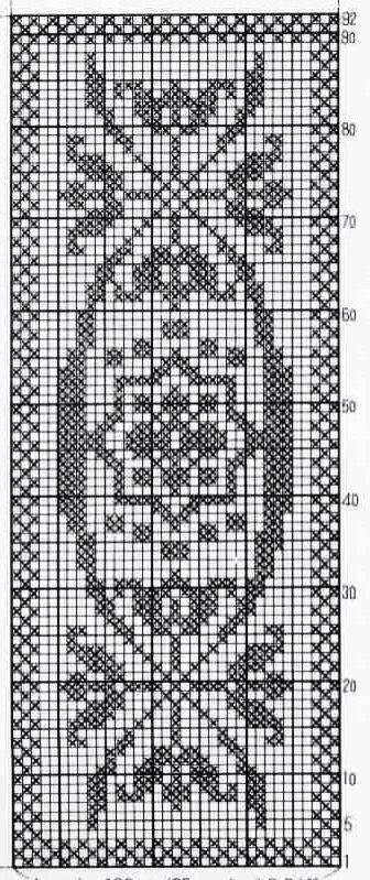38 best crochet edgings images on pinterest crochet curtains crochet doilies crochet chart filet crochet crochet patterns crochet table runner cross stitch embroidery cross stitch patterns ccuart Gallery