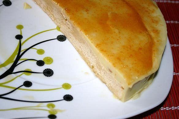 Paraíso Vegetal: Tarta vegana de vainilla y mermelada de melocotón