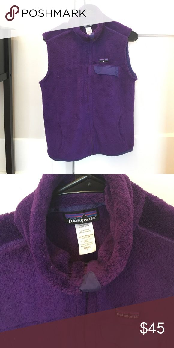 Purple fleece Patagonia vest In great condition. Patagonia Jackets & Coats Vests