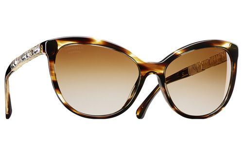 Chanel Women S Eyewear Collection Fw 2015 Cat Eye