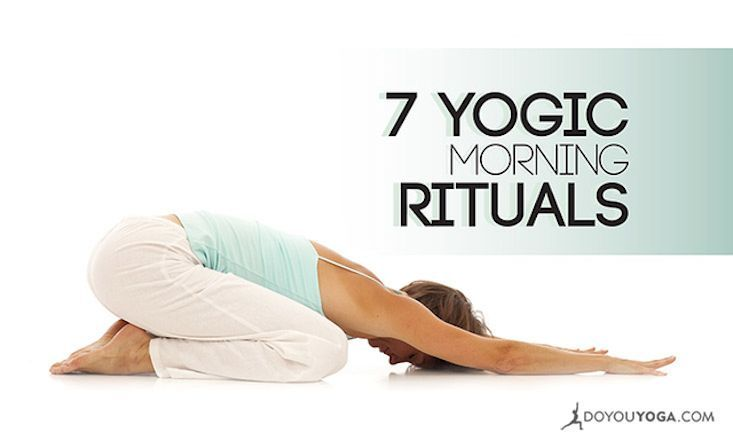 Are your mornings less than yogic? Turn it around with these tips! #morningyogi http://www.doyouyoga.com/7-yogic-morning-rituals-for-vitality-33281/