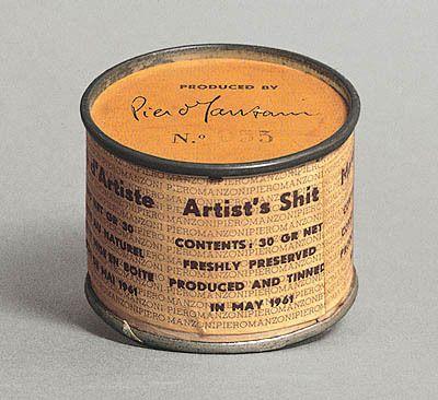 Artist's Shit (no. 4) (1961), Piero Manzoni