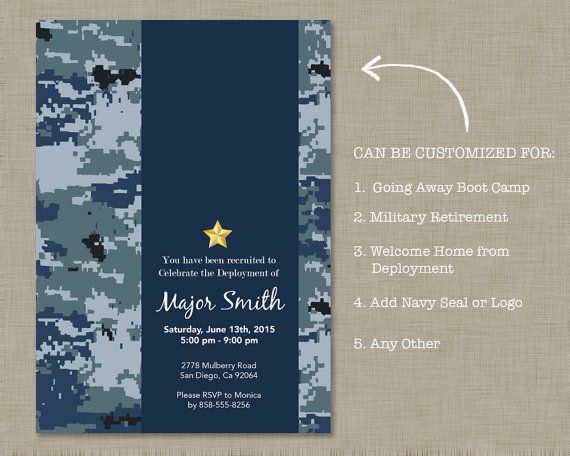 Best 25 Military retirement parties ideas – Military Retirement Party Invitations