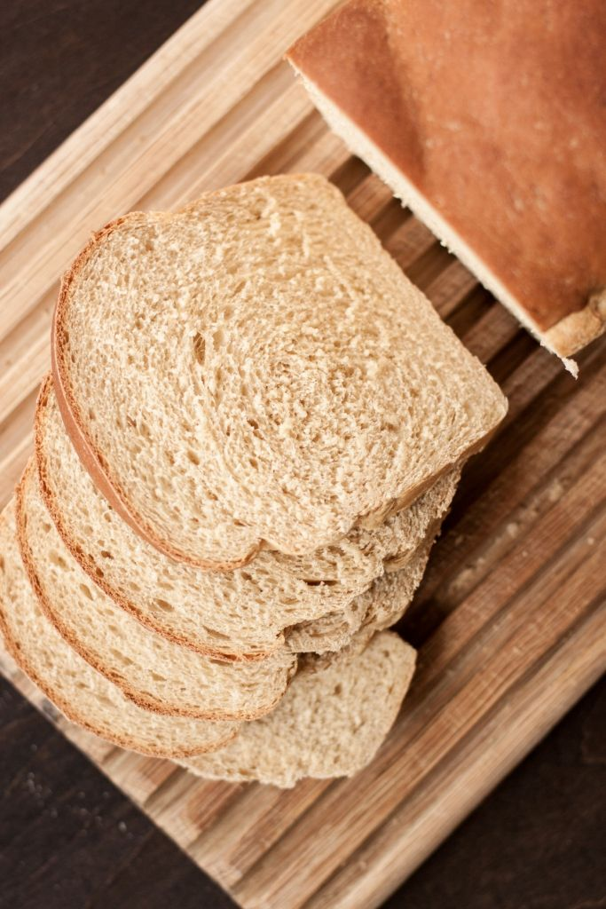 Whole Wheat Sourdough Sandwich Bread    Light and fluffy with just a hint of sourdough to give it great bought-at-the-local-bakery flavor.