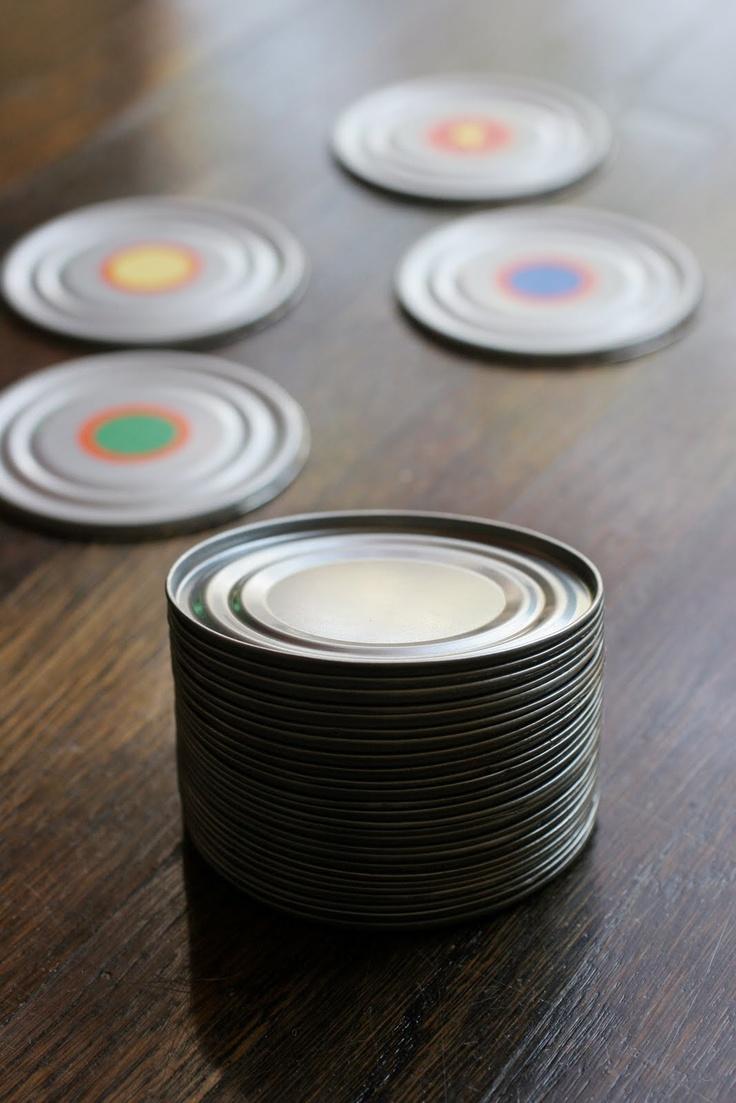 DIY Tin Can Memory Game