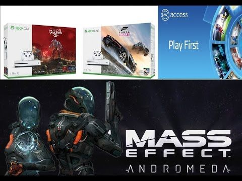 New Xbox One S Bundles - Mass Effect Andromeda 10h Trial For EA Access Subs