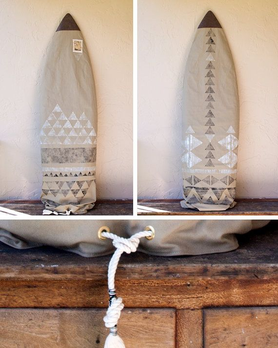 Kaki Surfboard tas Surf sok zwart-wit Tribal geometrische Boho