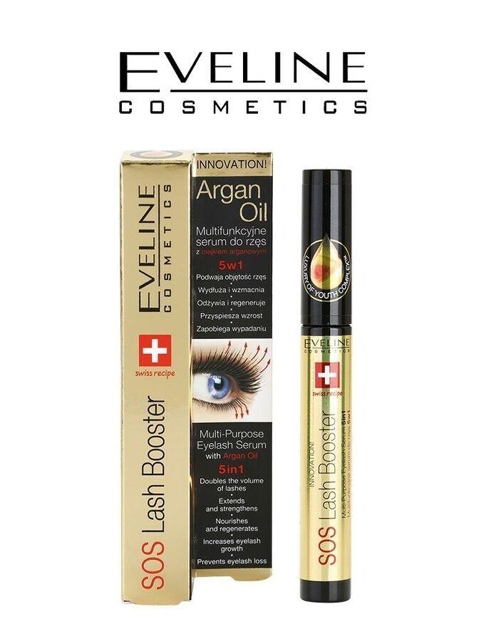72d6a72551d EVELINE SOS Lash Booster 5in1 Eyelash Serum with Argan Oil 10ml 5907609395283  eBay#Booster#