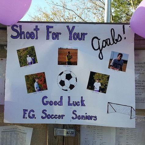 Image result for Soccer Senior Night Ideas