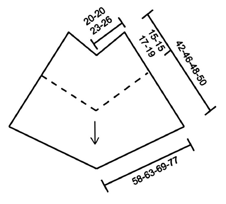 DROPS design: Pattern no cl-060   Yarn group B   ----------------------------------------------------------   Size:  S/M – L/XL - XXL - ...