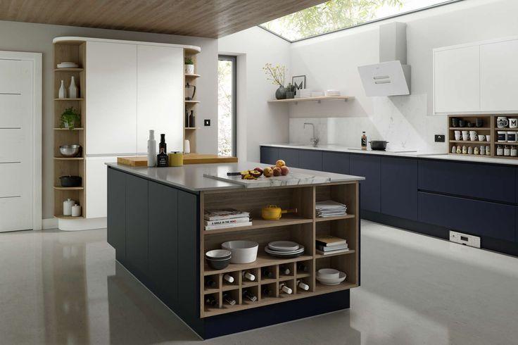 Wren kitchens Handleless Baltic Matt image 1