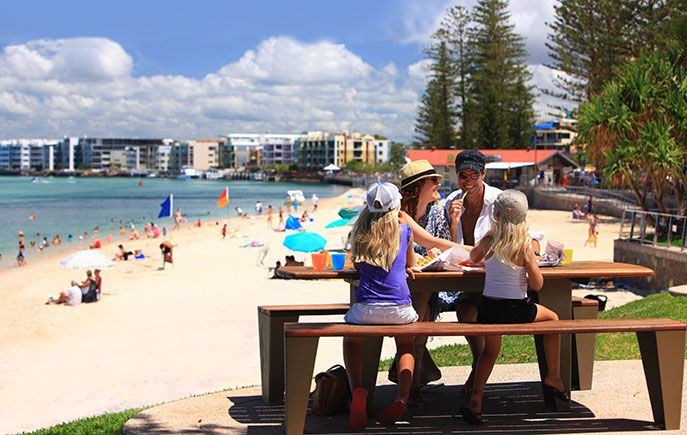 Golden Beach Caloundra - Gallery - Queensland Australia