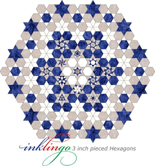 Best Epp Images On   English Paper Piecing Hexagon