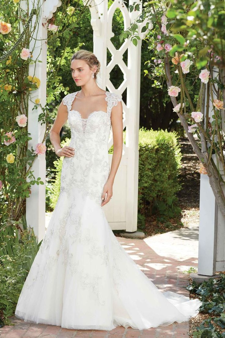 Bridal water lily 2226 wedding dresses photos brides com - Style 2277 You Ve Never Seen A Keyhole Back Quite Like The Heavily Beaded Bridal Wedding Dressesbridal