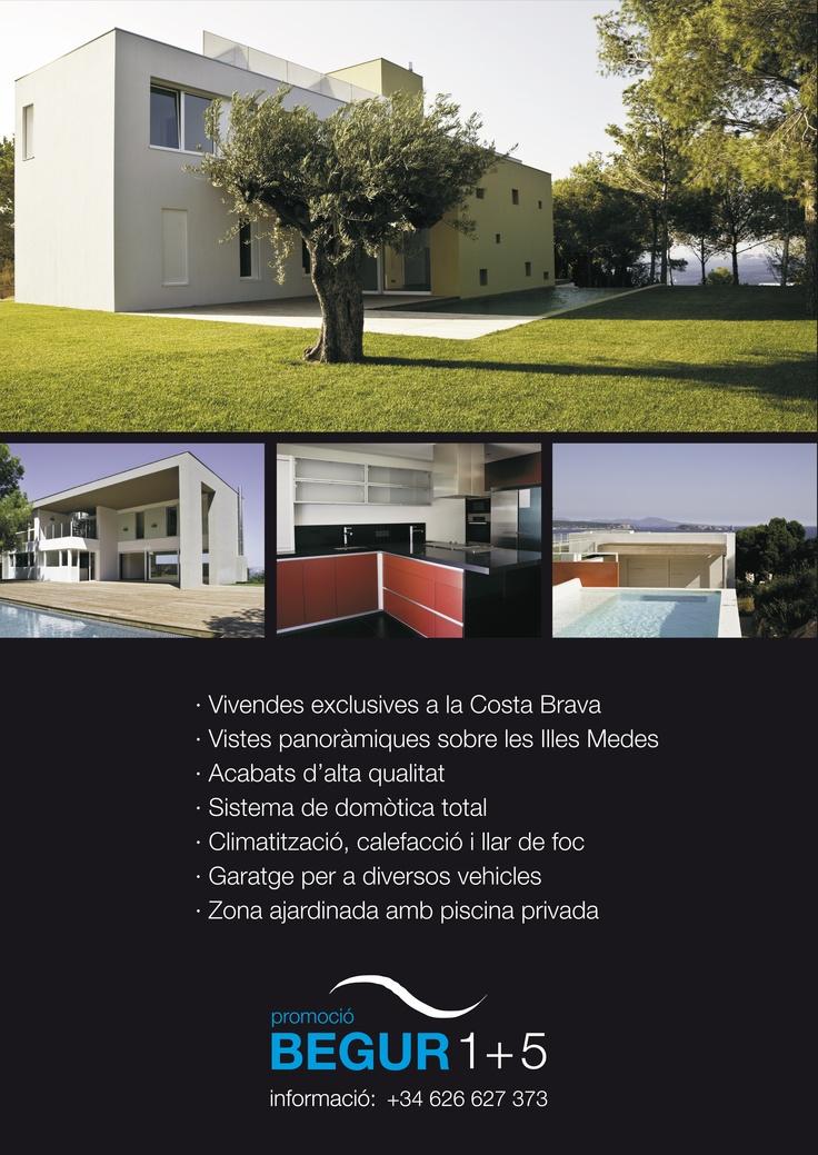 Creativitat i disseny anunci PromoBegur, per la revista Empresarial Girona