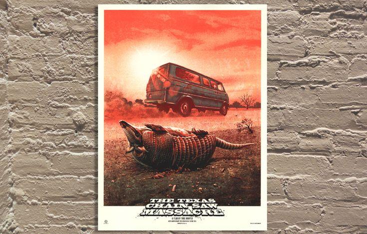 Texas Chain Saw Massacre [variant] by Jason Edmiston: Artists Operation, Texas Chains, Galeri, Exclusively Release, Jason Edmiston, Massacre Variant