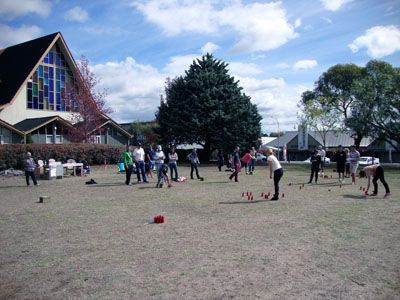 Fierce competition at the 1st ever Smite NZ Championships at the Havelock North Domain in Hawkes Bay