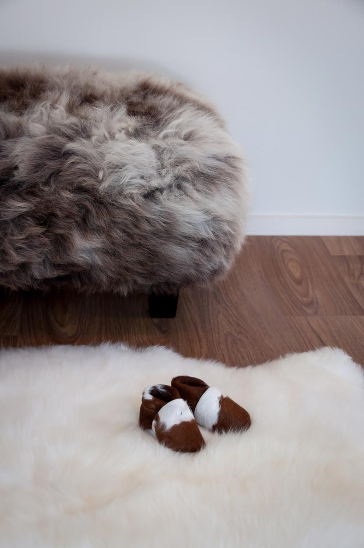 Gorgeous Creatures has a wide range of leather interior decor products and gifts. These calfskin baby booties, sheepskin rug and sheepskin footstool are all very beautiful gifts.