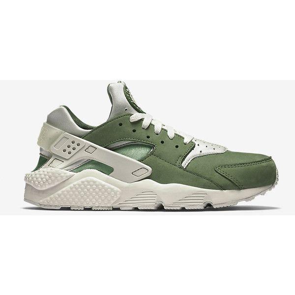Nike Air Huarache Premium Men's Shoe. Nike.com ($120) ❤ liked on Polyvore featuring men's fashion, men's shoes, mens shoes and nike mens shoes