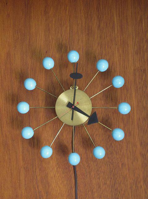 Ball Clock | George Nelson | Mid Century Modern