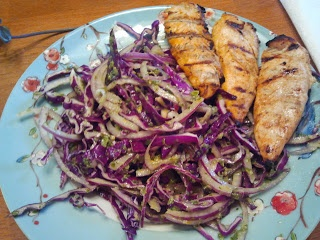 Tequila Lime Chicken w/ Green Onion Slaw | Paleo Recipes | Pinterest ...