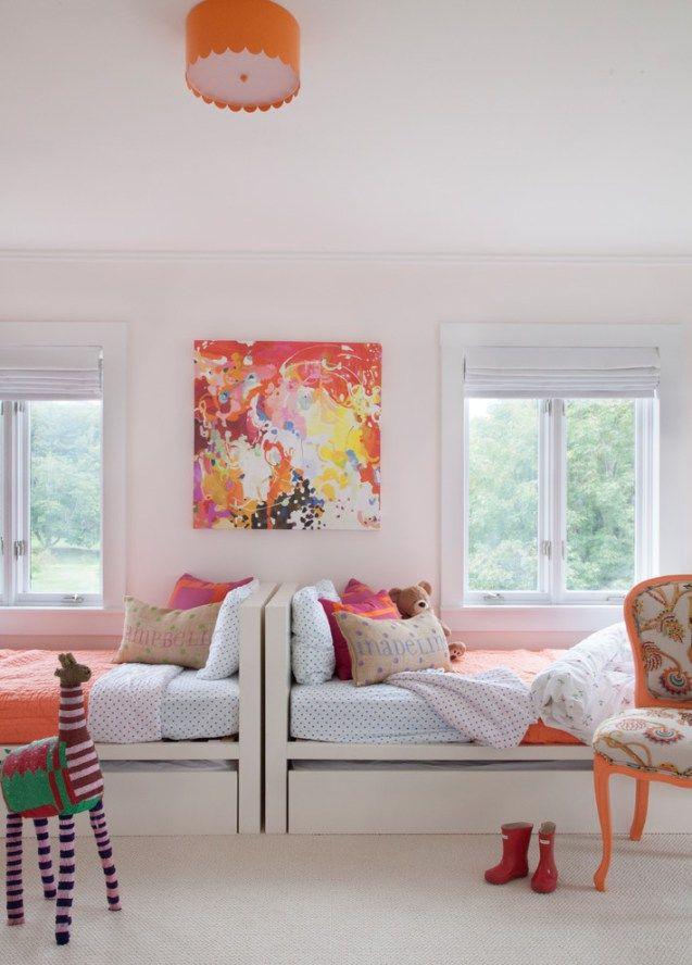 Kids bedroom dividers