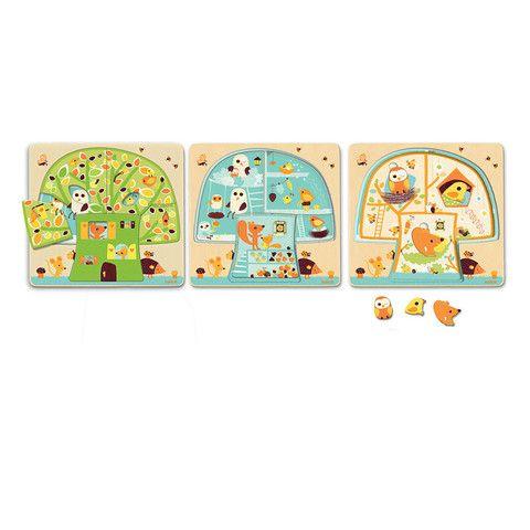 Chez-Carot 3 Layer Puzzle