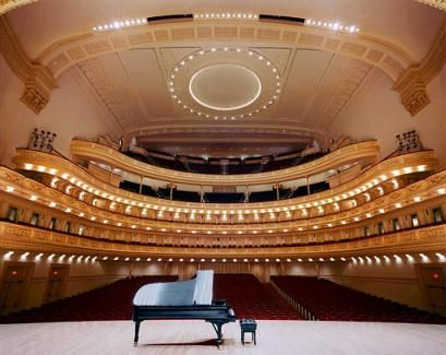 I may not get to Carnegie Hall but one of my life ambitions - play on an absolutely beautiful piano to an empty theatre.  One day, one day!