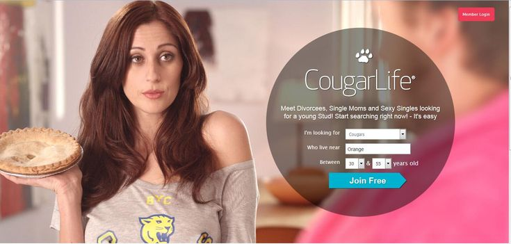 Cougar online dating free