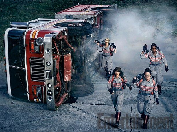 Entertainment Weekly released this new Ghostbusters picture and it was announced today that the ghost busting ladies will battle dead criminals from all eras of New York's under­belly past who have…
