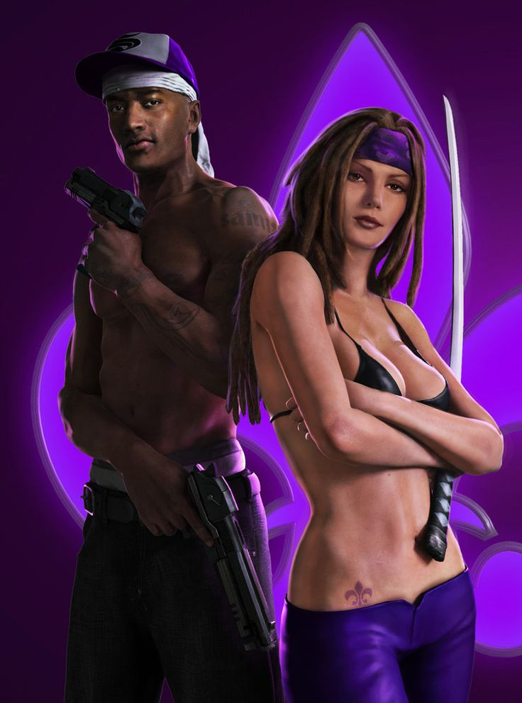 Saints Row 2 by cgreene Doug Champine (modeling) Heath Vincent (modeling)