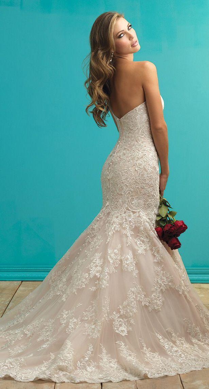 61 best Allure Bridal images on Pinterest | Short wedding gowns ...